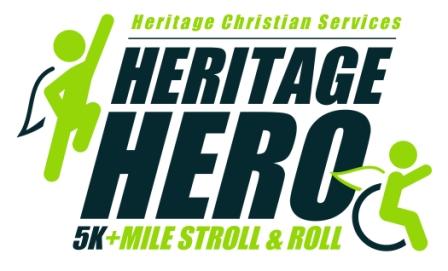 Heritage Hero 5K logo