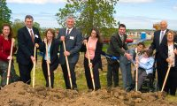 Ground broken for the Pieters Family Life Center in Henrietta.