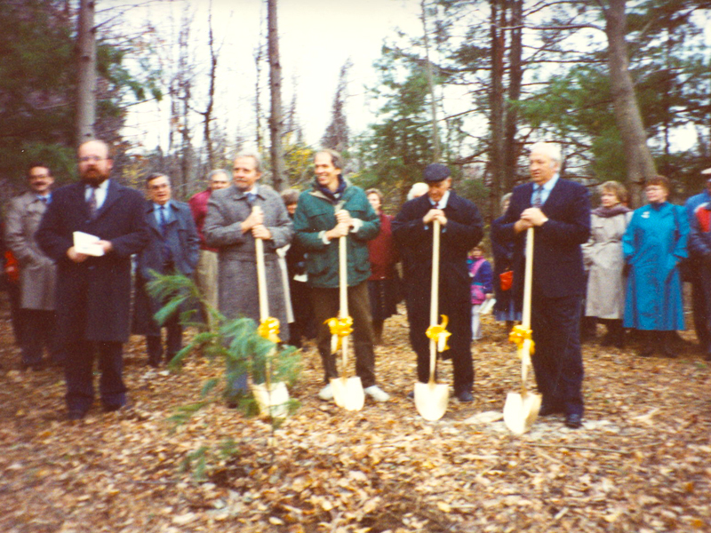 Groundbreaking for Respitewood